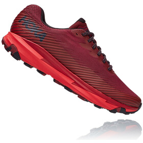 Hoka One One Torrent 2 Chaussures de trail Homme, cordovan/high risk red